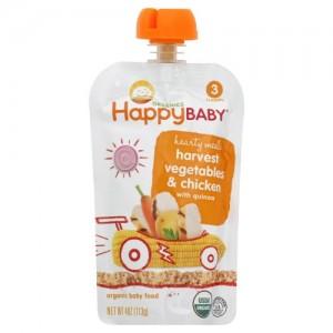 Happy Baby Paso 3 -Pollo,Vegetales y Quinoa