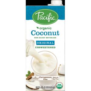 Leche de Coco Orgánica sabor Vanilla sin azúcar (Pacific)