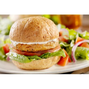Combo para hamburguesa vegetarianas