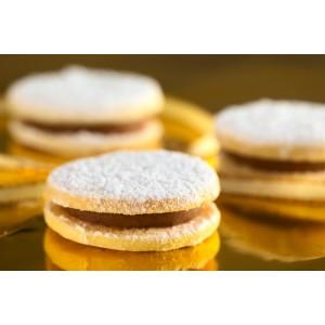 Alfajores de dulce de leche SIN GLUTEN (4 unidades)