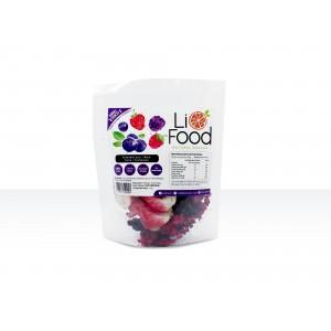Snack natural de berries: fresa, arandanos, frambuesa y mora (15 gramos)