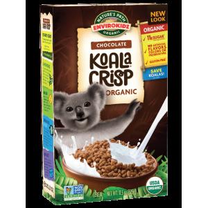 Cereal Orgánico Koala Crips sabor chocolate - 270grs