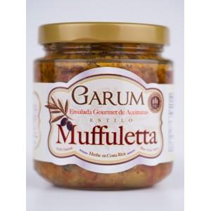 Ensalada de aceitunas gourmet (Muffuletta)