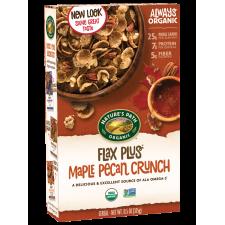 Cereal orgánico con pecanas y miel de maple (325 g)