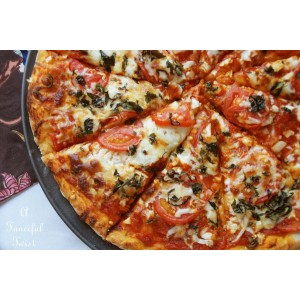 Pizza lista para hornear: Suprema
