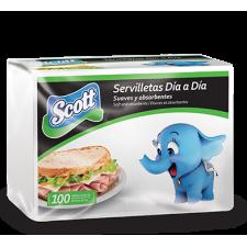 Servilleta Scott (100 unidades)