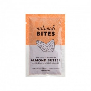 Sachet de mantequilla de almendra (30 gramos)
