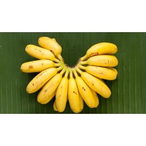 Banano datil orgánico (6 unidades)