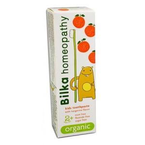 Pasta dental infantil 2+ sabor mandarina