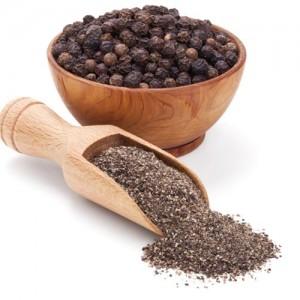 Pimienta negra molida orgánica