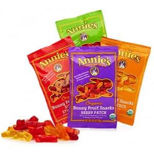 Snack orgánico de frutas (tipo gomitas)