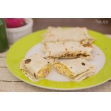 Burrito de huevo y queso (congelado)
