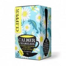 "Infusión Orgánica de manzanilla, arbusto de miel y canela ""Calmer Chameleon"" (Clipper)"