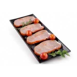 Chuletas de cerdo adobadas (4u)