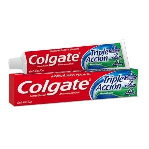 Pasta dental Colgate Triple Acción (2pack)