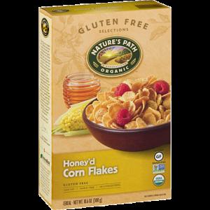 Cereal orgánico con miel