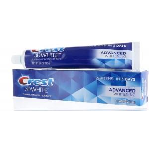 Pasta dental Crest 3D white (2 pack)