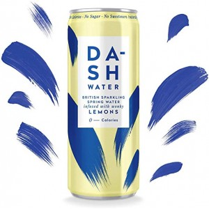 Agua gasificada con sabor a limón (DASH)