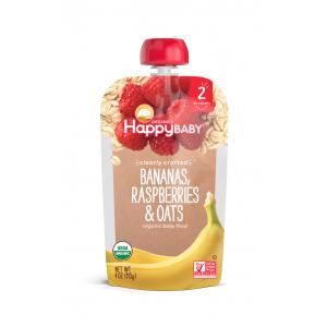Happy Baby Clearly Crafted Banano, frambuesa y avena - Paso 2