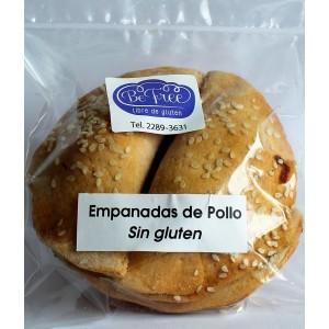 Empanadas de pollo SIN GLUTEN (4 unidades)