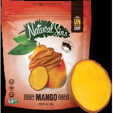 Hojuelas crujientes de mango