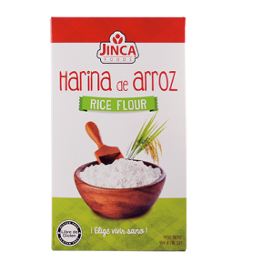 Harina de arroz SIN GLUTEN (Jinca)