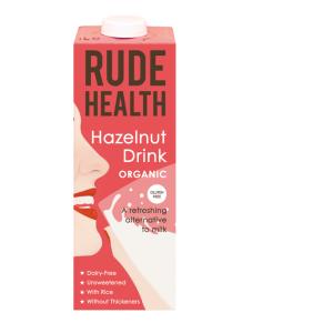Bebida orgánica de avellanas (Rude Health)