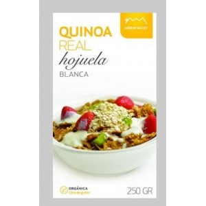 Quinoa blanca orgánica en hojuelas