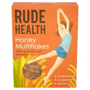 Cereal Multihojuelas con miel (Rude Health)
