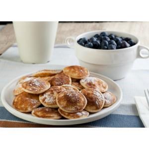 Mini pancakes de vainilla y canela (12 unidades)