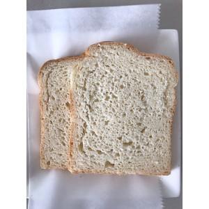 Pan cuadrado entero sin gluten