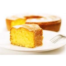 Queque seco de naranja sin gluten (rebanada)
