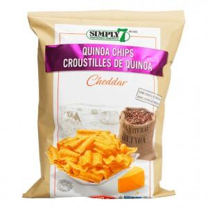Chips de quinoa sabor CHEDDAR
