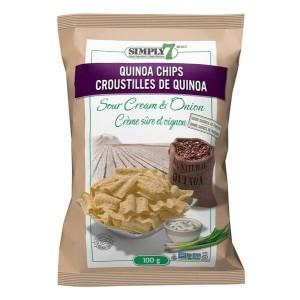 Chips de quinoa sabor CREMA Y CEBOLLA