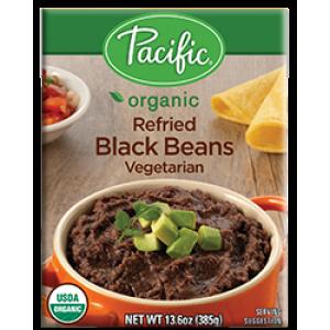 Frijoles molidos negros (orgánicos)