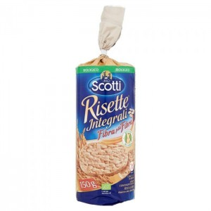 Galletas de arroz integrales (Rice Cakes)