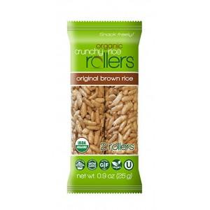 Snack orgánico de arroz crujiente