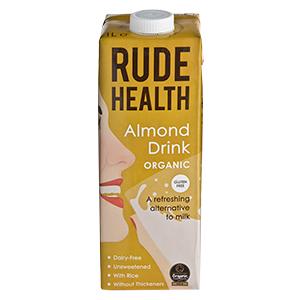 Bebida orgánica de almendras (Rude Health)