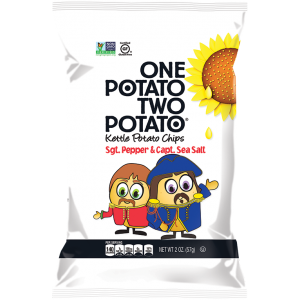 Chips de papa con sal y pimienta 142 gramos (One Potato-Two Potato)