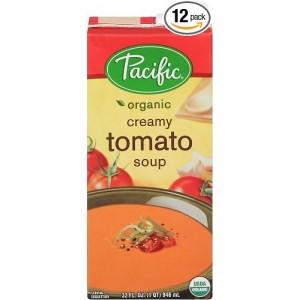 Sopa Orgánica Cremosa de Tomate