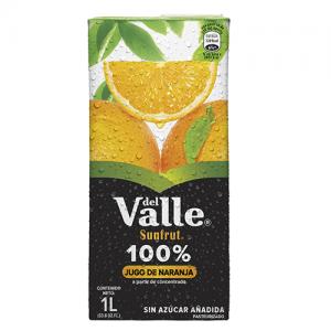 """Jugo de naranja """"Sunfrut"""" (1 litro)"""
