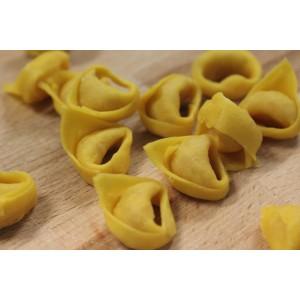 Tortellini con queso