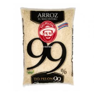 Arroz Blanco 99% (Tio Pelon) 1 Kilo
