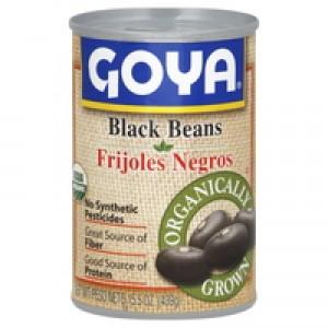 Frijoles Negros Orgánicos Enlatado (GOYA)