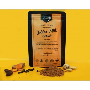 Golden Milk con Cacao