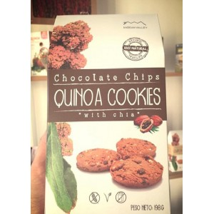 Galletas de Quinoa (Chocolate Chips)
