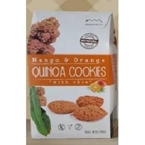Galletas de Quinoa (Mango-Naranja)