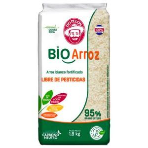 Arroz blanco Bioarroz Tío Pelón 1.8kg