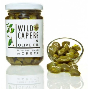 Alcaparras silvestres en aceite de oliva