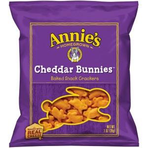 Galletas orgánicas de queso cheddar